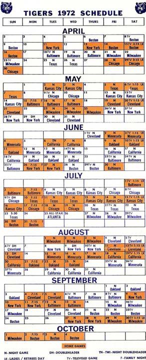 Schedule Front